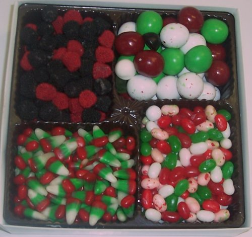 Scott's Cakes Large 4-Pack Christmas Mix Jelly Beans, Reinde