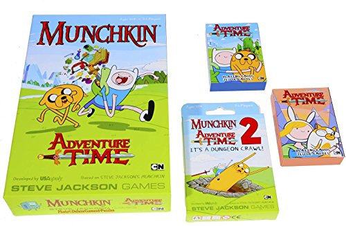 Munchkin Adventure Time 2 Its a Dungeon