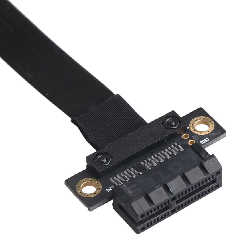 RDEXP 9.44x1.57 PCI-E Express 1X Flexible Cable Card Extension Port Adapter Port for 1U//2U Chassis