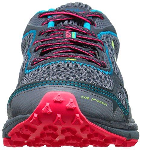 New Balance Womens WT910V2 Trail Shoe Grigio (Grey Pink)