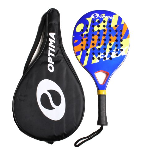 Optima FLEX Carbon Platform Padel Beach Paddle Tennis Raquet