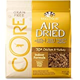 Wellness Core® Air Dried Natural Grain Free Dry Indoor Cat Food, Chicken & Turkey, 2-Pound Bag