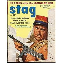STAG 1958 FEB-FOREIGN LEGION CVR-CHEESECAKE-AFRICAN GEM VG