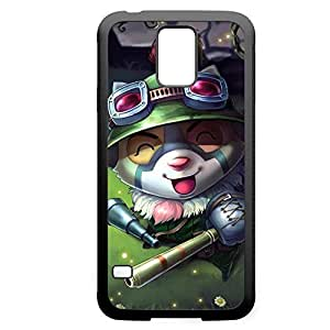 Teemo-006 League of Legends LoL case cover Iphone 5C - Rubber Black WANGJING JINDA