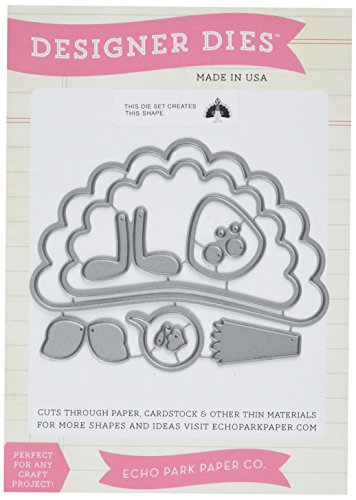 - Echo Park Paper Company Thanksgiving Turkey Die Set