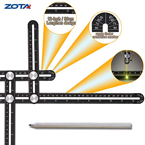 Multi Angle Measuring Ruler, ZOTA 12