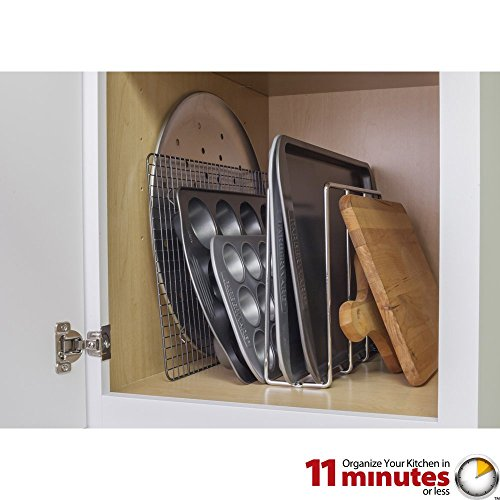 Cabinet Components/Dividers Vertical U-Shaped Tray Divider and Organizer - Polished -