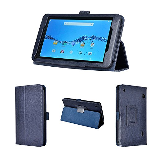 wisers DigiLand DL718M, DL721-RB 7-inch Tablet case/Cover, Dark Blue (Navy) ()
