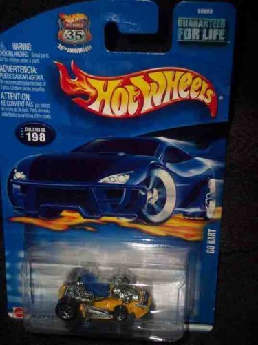 2002-198 Go Kart 2002 card Collectible Collector Car Mattel Hot Wheels by Hot Wheels