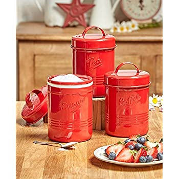 Amazon.com: Vintage or Retro Canister Set ~ Kitchen