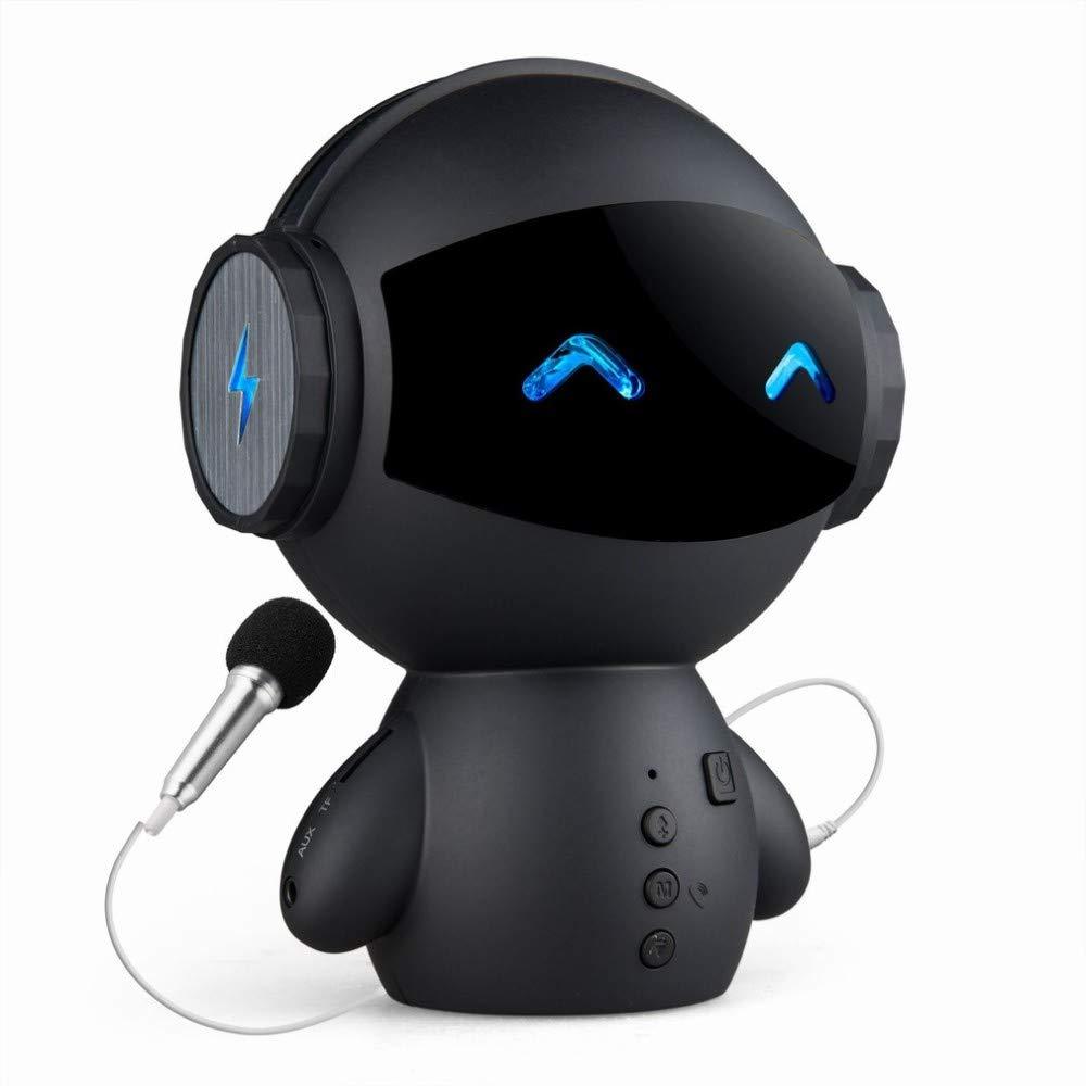 CN Altavoz Bluetooth Robot TV Edition Tarjeta de micrófono ...