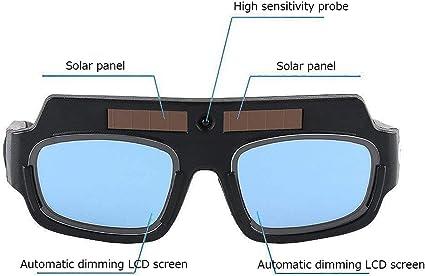 Welding Glasses Mask Helmet Eyes Solar Auto Darkening Safety Protective Eyes