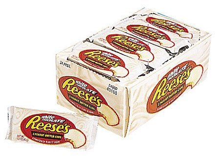 Reese's Peanut Butter Cup White Chocolate: 24 Count - 1.5 oz pkgs