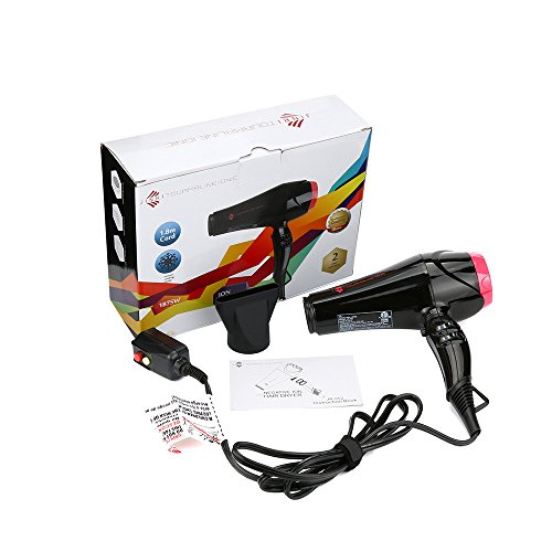 1875W Professional Lightweight AC Strong Powerful 110V Hair Dryer, Shipped from US