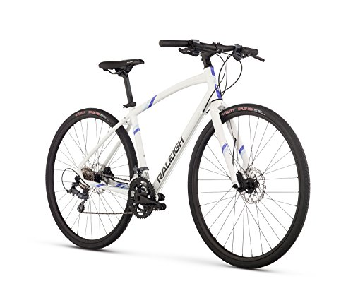 RALEIGH Bikes Alysa 3 Women's Urban Fitness Bike, 17' Frame, White, 17' / Medium