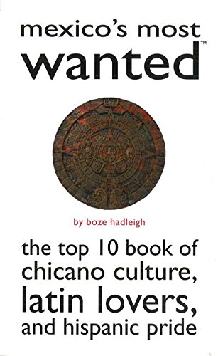Read Online Mexico's Most Wanted™: The Top 10 Book of Chicano Culture, Latin Lovers, and Hispanic Pride (Most Wanted™ Series) PDF