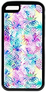 Colorful Pineapple Pattern Theme Iphone 5C Case Kimberly Kurzendoerfer