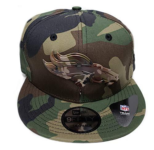 459b47633ba Denver Broncos Camouflage Caps. New Era Denver Broncos 9Fifty Army Camo  Capped Adjustable Snapback Hat