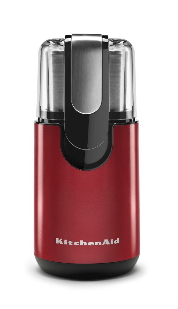 KitchenAid BCG111ER Blade Coffee Grinder - Empire Red