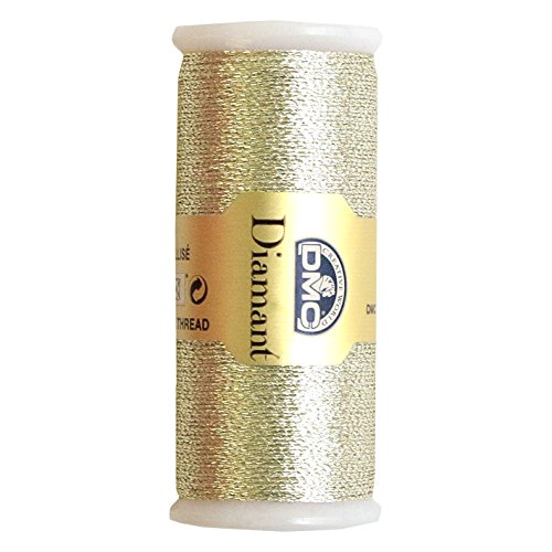 DMC Diamant Metallic Needlework Thread, 38.2-Yard, Light Silver