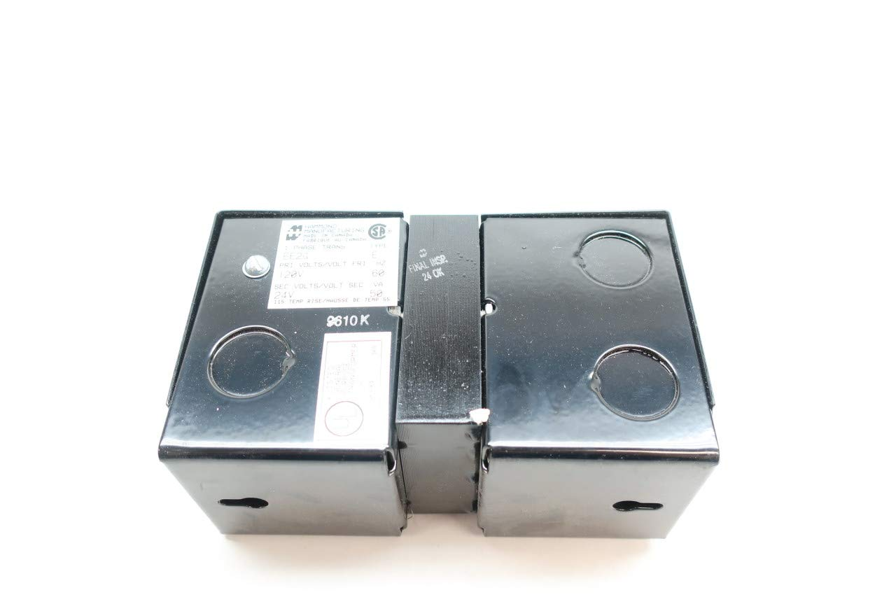 HAMMOND EE2G 1PH Transformer 50VA 120V-AC 24V-AC D658967