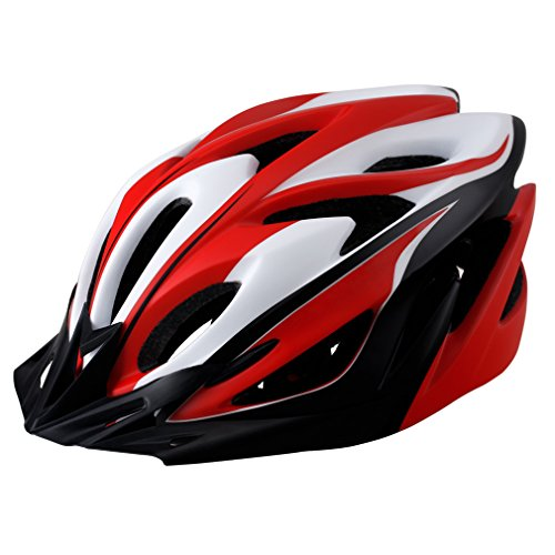 EASECAMP Specialized Ultralight Adjustable Mountain Bicycle Helmet for Adult Men & Women (Red)
