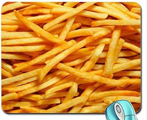Abstracto patatas fritas de patatas fritas de comida rápida ...