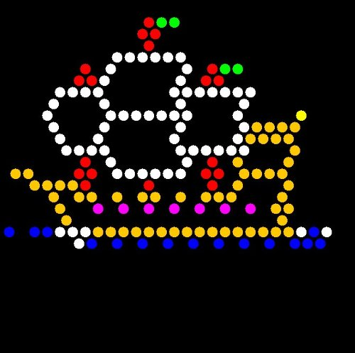 Lite Brite Refill: Things That Go (SQUARE) - see pictures for compatible models