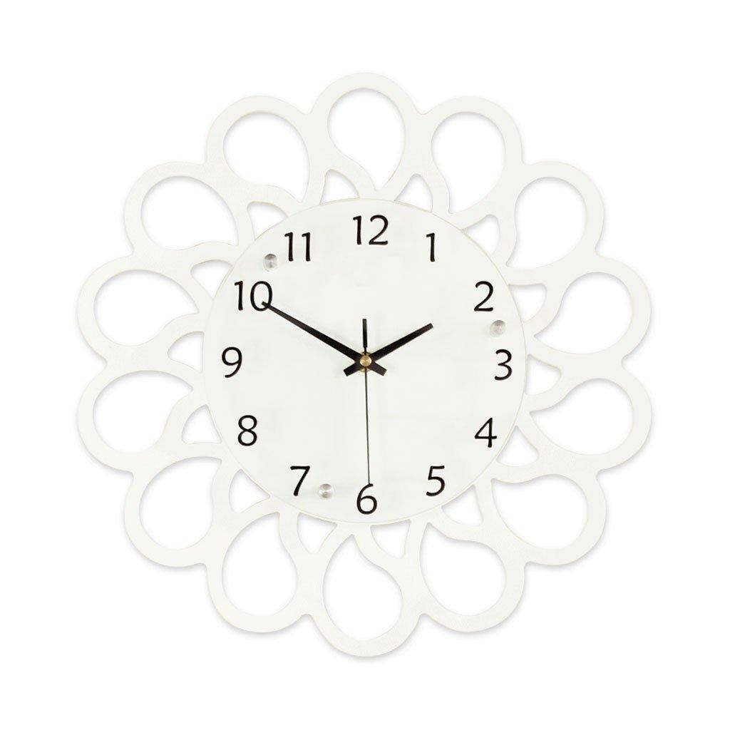 リビングルームアートクリエイティブパーソナリティウォールチャート現代ミニマリストファッション雰囲気装飾時計ベッドルームミュートクォーツ時計 (サイズ さいず : L l) B07CYR6JT1 L l L l