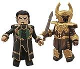 Diamond Select Toys Marvel Minimates: Thor 2: Series 53 Loki and Heimdall Action Figure, 2-Pack
