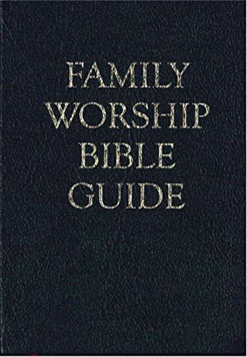 Family Worship Bible Guide - Bonded Leather Gift ()