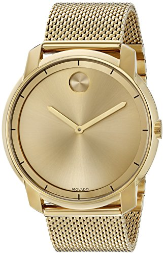 Swiss Movado Quartz - Movado Men's Swiss Quartz Tone and Gold Plated Watch(Model: 3600373)