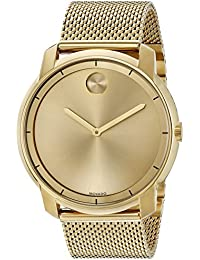 Mens Swiss Quartz Tone and Gold Plated Watch(Model: 3600373)