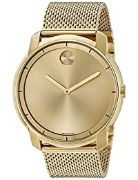 Movado Men's Swiss Quartz Tone and Gold Plated Automatic Watch(Model: 3600373)