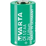 VARTA CR 1/2 AA Series Lithium 3 V 950 mAh Cylindrical Battery