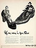 1951 Ad AT&T Bell Telephone Utilities Communication Operator Shoes Footwear YFT7 - Original Print Ad