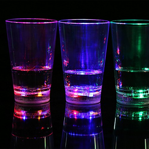 LightInTheBox Creative Water Beer Cup KTV Induction Flash l Light Emitting Water Bar Supplies
