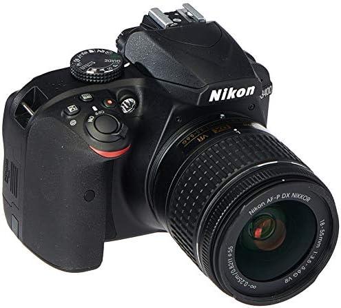 Nikon D3400 Digital SLR Camera & 18-55mm VR DX AF-P Zoom Lens (Black) – (Renewed)