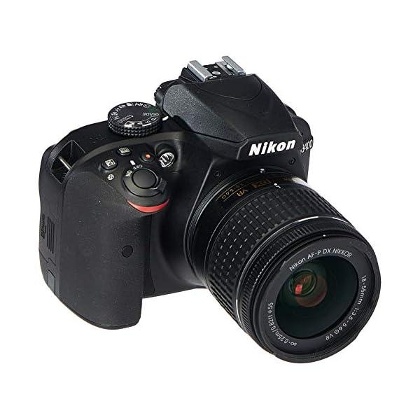 515jUBS FKL. SS600  - Nikon D3400 Digital SLR Camera & 18-55mm VR DX AF-P Zoom Lens (Black) - (Renewed)