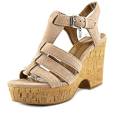 Amazon.com | Coach Womens Kennedy Leather Open Toe Casual