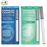 New / Stop Smoking Remedy / Quit Smoking Aid To Help Reduce Cravings / Natural, Satisfying & Effective Solution (2 Pack, Harmless Cigarette / Variety Set)