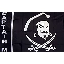Captain Morgan Flag 3' X 5' Deluxe Indoor Outdoor Banner