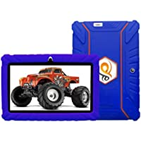 Special Offer IPS Kids Tablet - Tecwizz 7 Inch Kids Jumbo IPS Tablet PC Bundle (Quad Core, 8GB, HD, Google Android Kitkat 4.4, WIFI Enabled) + Extra Heavy Duty Kid Proof Silicon Case (Blue)