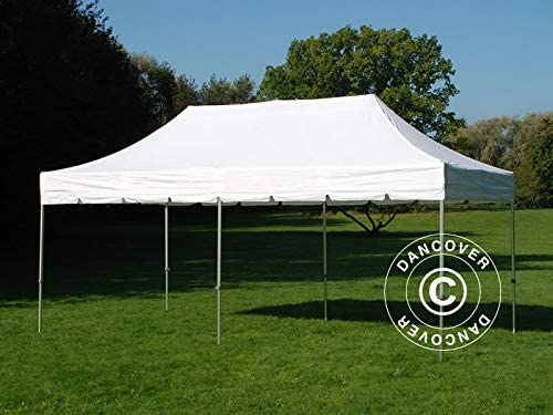 Carpa Plegable Carpa Rapida Pro FleXtents Peaked 3x6m Blanco, Incl ...