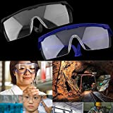 Qewmsg Work Safety Eye Protecting Glasses Anti-Splash Wind Dust Proof Glasses