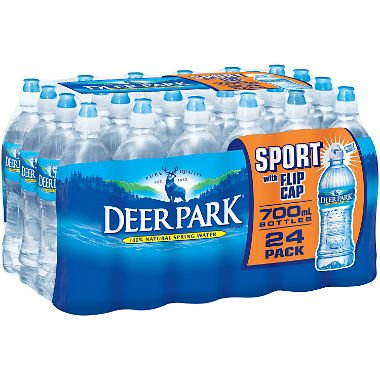 Deer Park Natural Spring Water (700 ml bottles, 24 pk.) (pack of 2) -