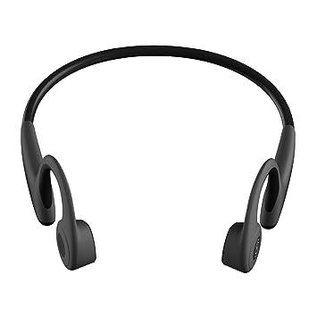 Moda Bluetooth 5.0 Auriculares inalámbricos a Prueba de Sudor Auriculares de conducción ósea (Color: Negro): Amazon.es: Electrónica