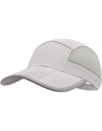 5b80605be10ac GADIEMKENSD UPF 50+ Outdoor Hat Folding Reflective Running Cap Unstructured Sport  Hats for Men
