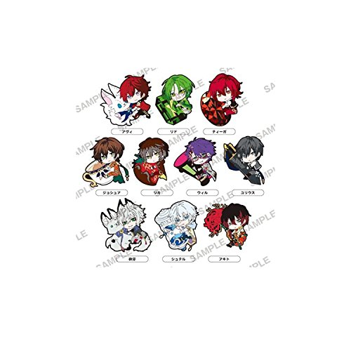 100 SLEEPING PRINCES & THE KINGDOM OF DREAMS PITACOLLE RUBBER STRAP 1 BLIND (10 POSSIBLE STYLES)