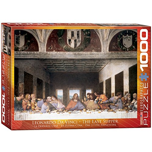t Supper by Leonard Da Vinci Puzzle (1000-Piece) ()